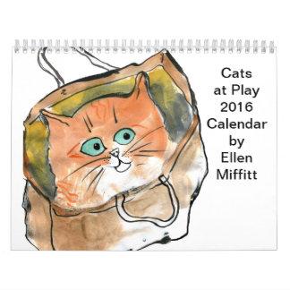 Gatos en el calendario del juego 2016