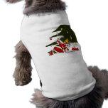 Gatos envueltos regalo camiseta de mascota