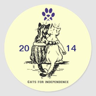 Gatos escoceses para el pegatina de la independenc