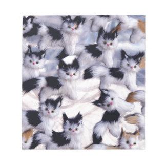 gatos espeluznantes libretas para notas