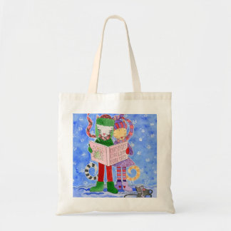 Gatos frescos de Caroling del navidad Bolsa