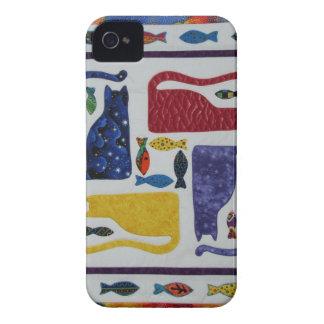 Gatos iPhone 4 Case-Mate Protectores