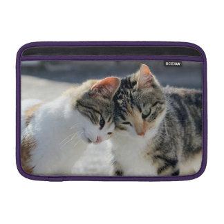 gatos fundas para macbook air