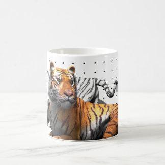 Gatos grandes - tigres V2 Taza