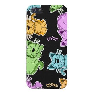 gatos iPhone 5 carcasa