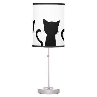 Gatos Lámpara De Mesilla De Noche