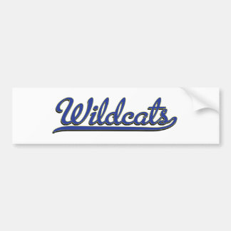 gatos monteses pegatina de parachoque