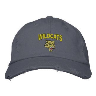 Gatos monteses gorra de beisbol