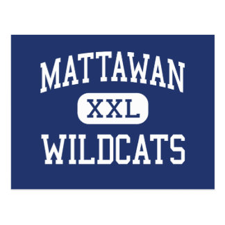 Gatos monteses Mattawan medio Michigan de Mattawan Tarjetas Postales