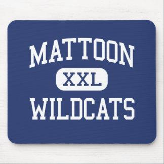 Gatos monteses Mattoon medio Illinois de Mattoon Alfombrillas De Raton