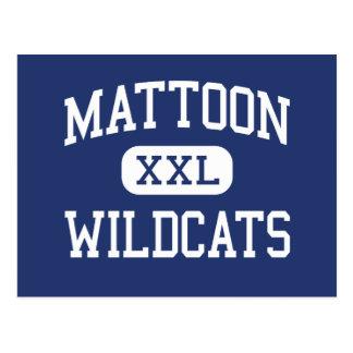 Gatos monteses Mattoon medio Illinois de Mattoon Postales