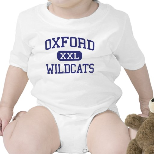 Gatos monteses Oxford media Michigan de Oxford Traje De Bebé