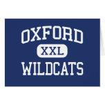 Gatos monteses Oxford media Michigan de Oxford Tarjeta
