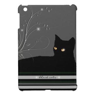 gatos negros, gatito iPad mini carcasa