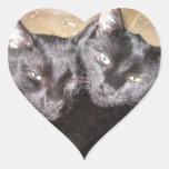 Gatos negros pegatinas