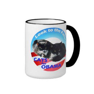 Gatos para la taza de Obama
