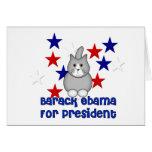 Gatos para Obama Felicitación