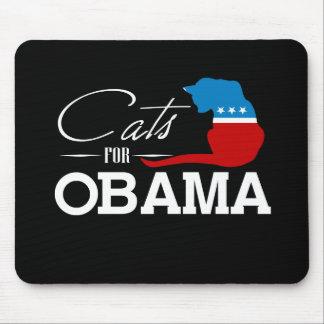 Gatos para Obama - Alfombrillas De Ratón