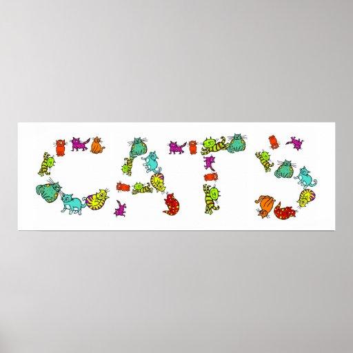 Gatos Póster