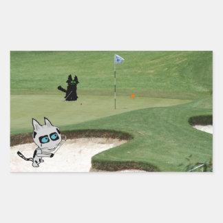 Gatos que juegan a golf