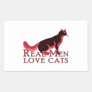 Gatos reales 2 del amor de los hombres rectangular altavoz