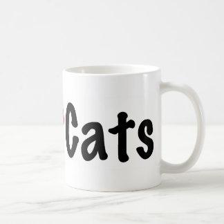 Gatos reales #2 del amor de los hombres taza de café