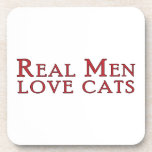 Gatos reales 3 del amor de los hombres posavasos