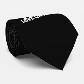 Gatos reales del amor de los hombres corbata
