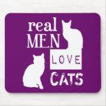 Gatos reales del amor de los hombres (disponibles  alfombrilla de raton