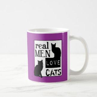 Gatos reales del amor de los hombres (disponibles  taza