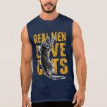 Gatos reales del amor de los hombres camiseta sin mangas