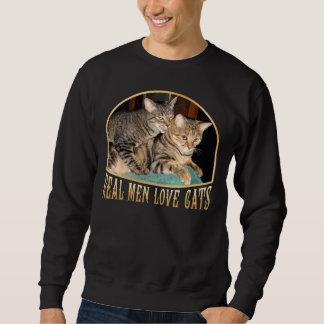 Gatos reales del amor de los hombres suéter