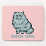 Gatos: ¡Retroceda! Tapete De Ratones
