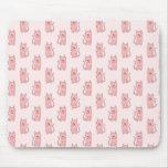 Gatos rosados. Modelo Alfombrilla De Raton