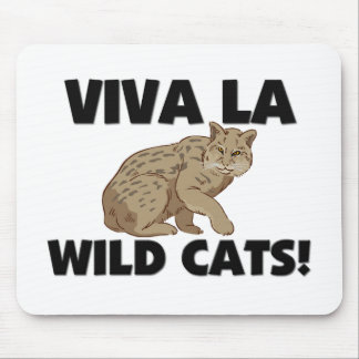 Gatos salvajes del La de Viva Alfombrilla De Ratón