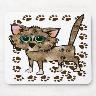 Gatos salvajes alfombrillas de raton