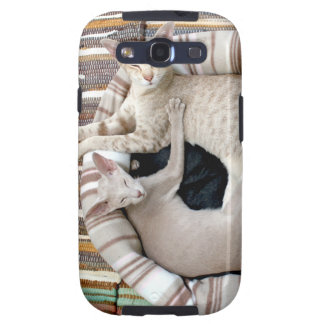 ¡Gatos siameses apenas Chillin! Galaxy S3 Fundas
