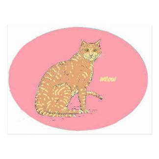Gatos, tres, en productos de los varios tarjetas postales