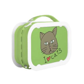 gatos verdes del amor