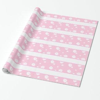 Gatos y estrella de Minatures modelados en rosa