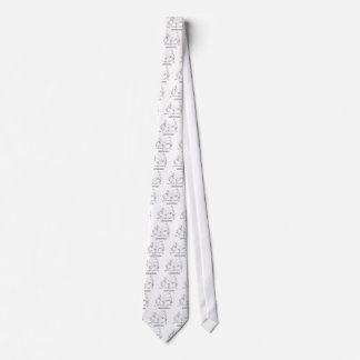 Gatos y extranjeros corbata personalizada