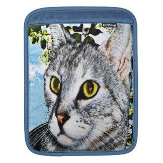 Gatos y manga del iPad de la plena floración de la Funda Para iPads