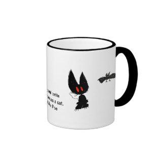 Gatos y palos taza de café
