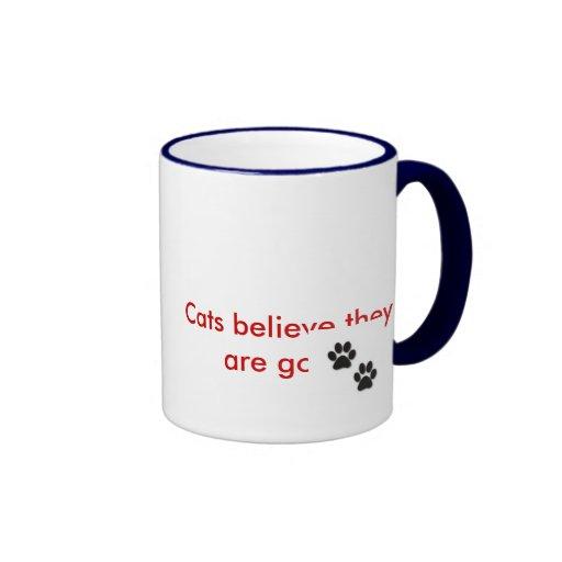 Gatos y perros tazas