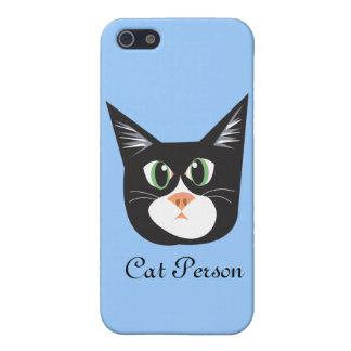 Gatos y persona reinantes de Dogs_Cat iPhone 5 Protectores