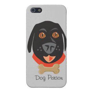 Gatos y persona reinantes de Dogs_Dog iPhone 5 Carcasa