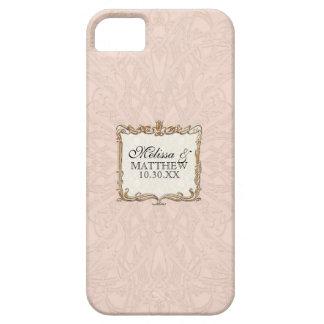 Gatsby Art Deco Nouveau Lace Faux Gold Tulip iPhone SE/5/5s Case