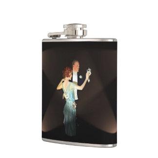 Gatsby Couple Flask