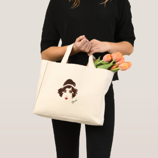 Gatsby Gold Girl Party Tote Bag