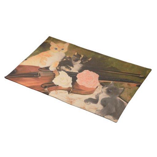 Gattini Placemat Mantel